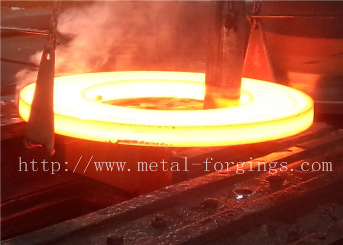 Industrial ST52 ST60-2 Carbon Steel Flange / Large Forged Rings