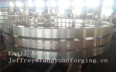 DIN JIS Stainless rolled steel rings Heat Treatment And Machined
